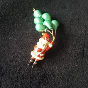 Hallmark Santa's Balloon Tree Miniature Keepsake.